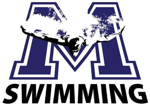Montclair High School Swim Team Oliner Graphics